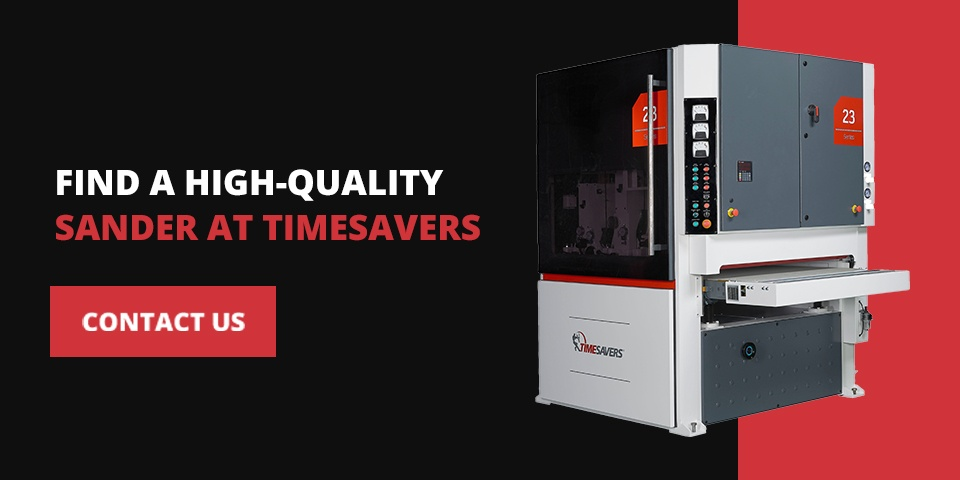 Find a High-Quality Sander at Timesavers