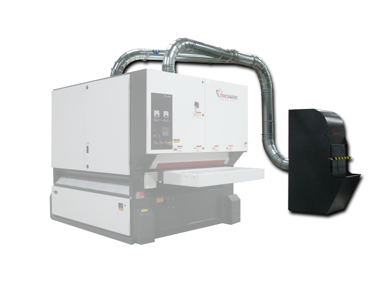 Timesavers WDC Dust Collection System installed